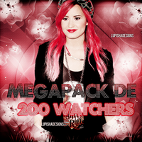 MEGAPACK + 200 WATCHERS by LupishaGreyDesigns