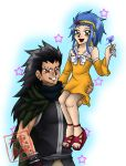 Commission: Levy and Gajeel by kojika