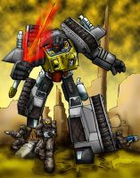 Grimlock 40K by LancerAdvanced