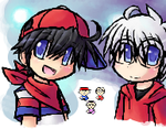 iScribble - Me and Weenie :D by Mother1-Ninten