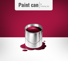Paint can by devzign