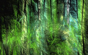 Fractal Forest by desmo100