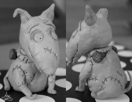 Sparky from Frankenweenie (full body) by Aannnaaa