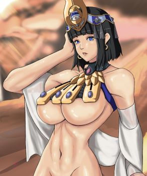 Queen's Blade Menace by Digitally-Devious