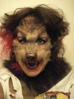 Werewolf Costume Close Up by whyamitheconvict