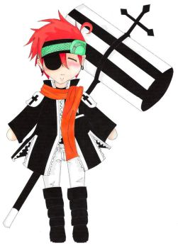 Chibi Lavi by BlackRockTaffy