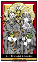 Benedictine Founders by NowitzkiTramonto