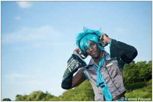 Vocaloid: Mikuo Hatsune by CosplayerWithCamera