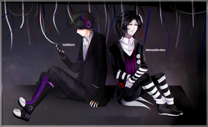 Collab : Shadow Bon and Marionette by Kaijiiro