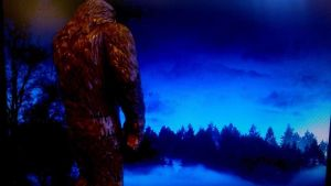 Bigfoot in the morning by Jamesbaack