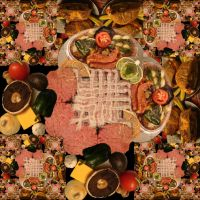 Grilled Food Fractal by Trance-Plant