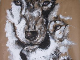Wolves by stephanielkern