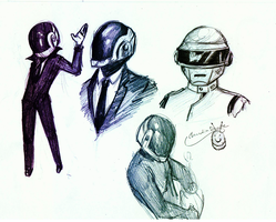 Daft Punk by chockoladien