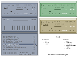 Xeril for Winamp by frostedflames