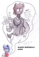 HAPPY BIRTHDAY MEEKEH! by TheIcedWolf