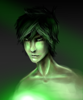 Green Glow by LivingAliveCreator