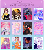 2015 art summary by ghostlycrab