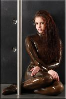 Paula in transparent catsuit 2? by catsuitmodel