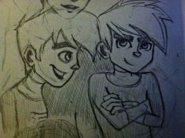 Danny Phantom Sketch Dump by Michi1223