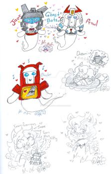 Transformers Ghosts And Other Draws by Kittychan2005