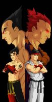 streetfighter x tekken finish by Anny-D