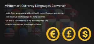 Virtuemart Currency Languages Converter by CmsChanel