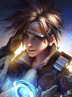 overwatch tracer by GothicQ