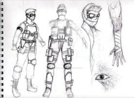 Rand Concept Sketches by Randomman187
