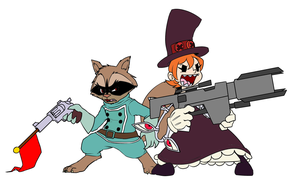 Rocket Cock Swap (Colored) by Greenday2004