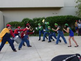 Acen 2013 - Red vs Blue by Lionofdemise