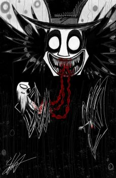 'He Eats Your Insides and then Rips Your Arms Off' by Dead-Opera-Star