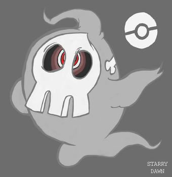 Duskull by Starry-Dawn