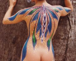 body painting by graemeb