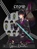 CROW: Aiden by Kelcake