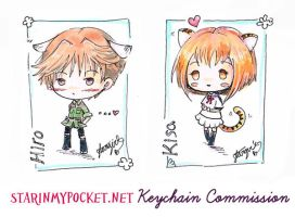Kisa and Hiro Fruits Basket Commission by StarMasayume