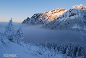 Winter in the mountains. by PannaLavena