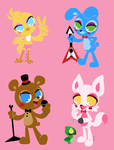 Five nights at freddy's 2 by F0X1E