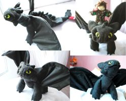 How to train your dragon - Toothless by martek97