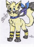 Sundar the desert cat by Icewhisker16