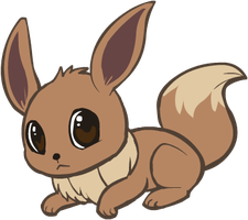 133. Eevee by HappyCrumble