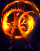 Staff of Fire by Neotheta