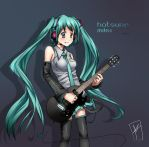 Vocaloid - Hatsune Miku by MLeth