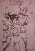 Hetalia Axis Powers by skytabula
