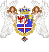 Tiroladinia and the Litorale, Coat of Arms by Cheetaaaaa