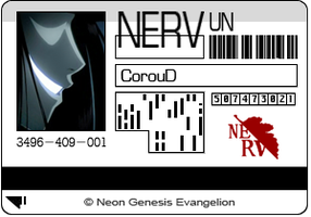 NERV Card -NGE- by CorouD
