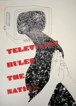 Television rules the nation by Lecithin