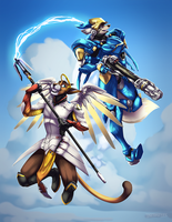 Mercy and Justice by Tsebresos