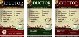 Flyer Cafe - DUCTOR by williansart