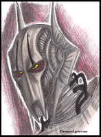General Grievous -Colored- by PurpleRAGE9205