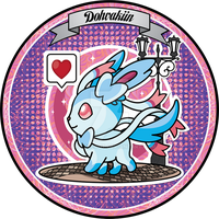 Sylveon Walkie Coaster by VaultScout
